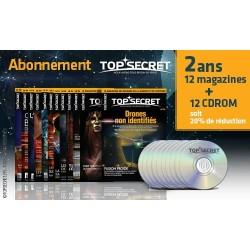 Abonnement 2 ans 12 magazines + CDROM