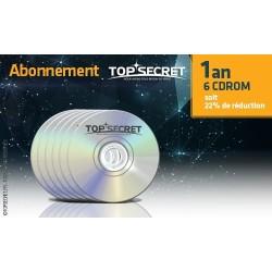 Abonnement 6 CDROM (1 an)