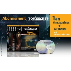 Abonnement 1 an 6 magazines + CDROM