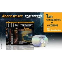 Abonnement 6 magazines + CDROM